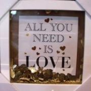 all you need is love pic frame
